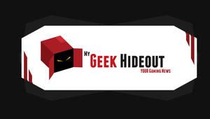 My Geek Hideout - Logo Concept 1