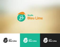 Studio Bleu Lime - Logo Mockup by Akiro64
