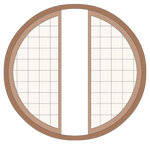 Round Window - Stock