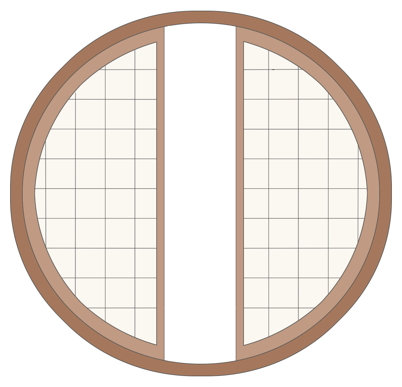Round window for Replacement window rankings
