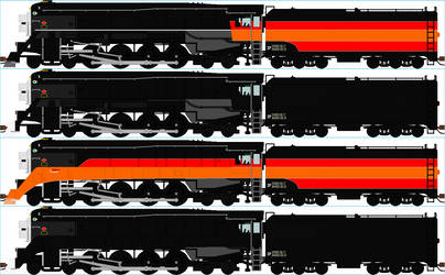 Southern Pacific GS-4 Sprites (ASK BEFORE USING)