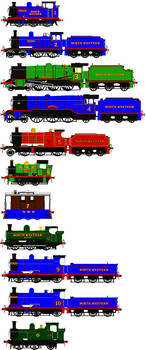 The North Western Fleet (My Headcannon)