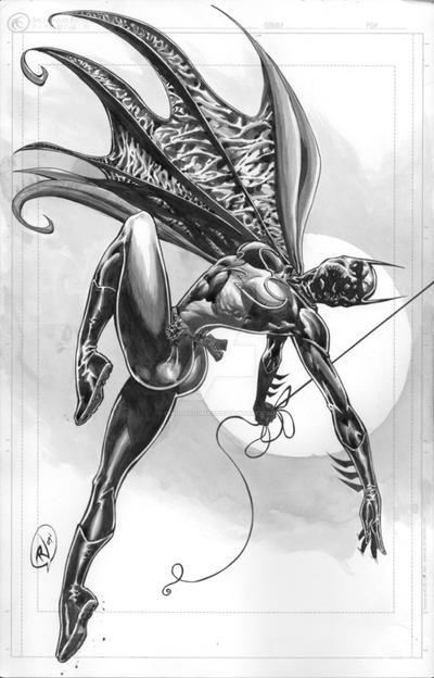 Cassandra Cain Batgirl by ChildOfDumas