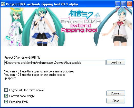 Project Diva Ripping tool by Hanaminasho