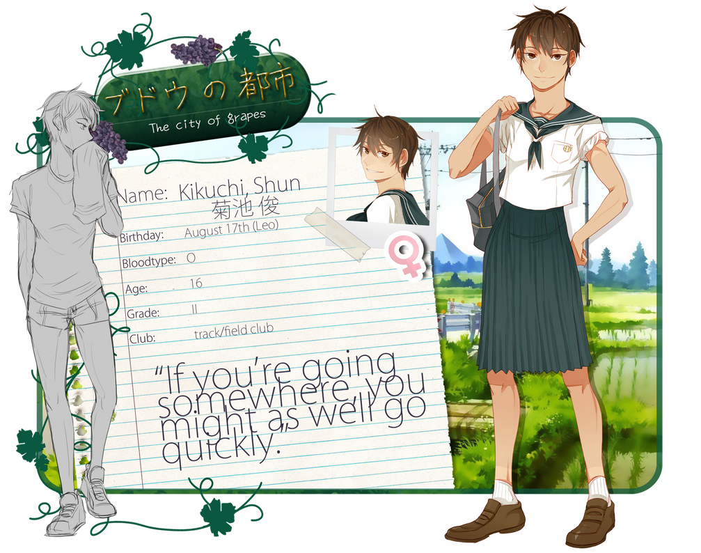 BnT: Kikuchi, Shun by uiri