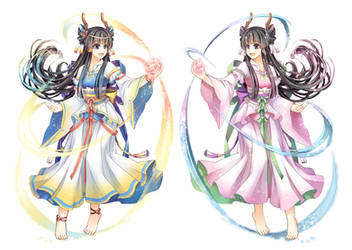 character design - longnu by Hsun-Ling