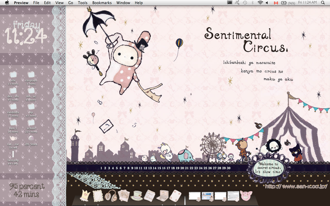 Sentimental Circus Desktop by detergent-bubbles
