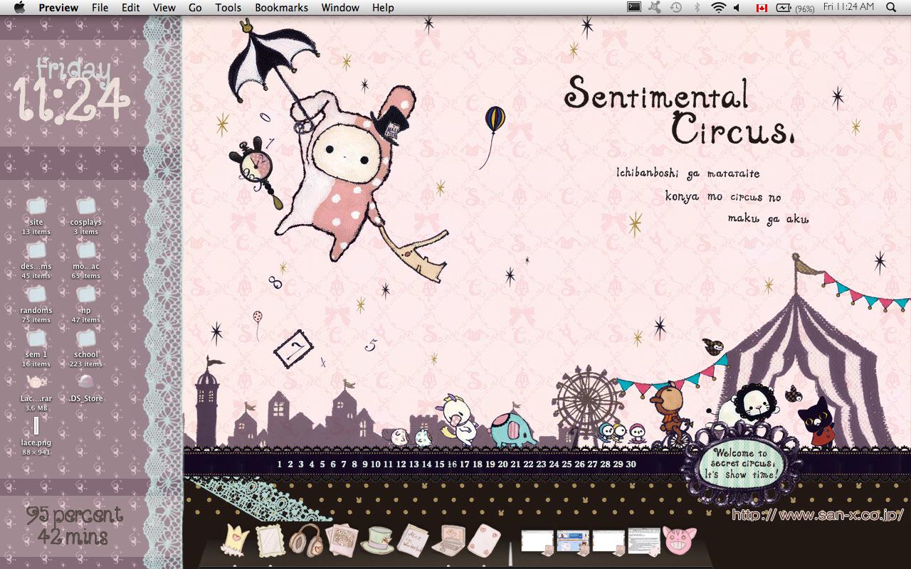 Sentimental Circus Desktop by detergent-bubbles
