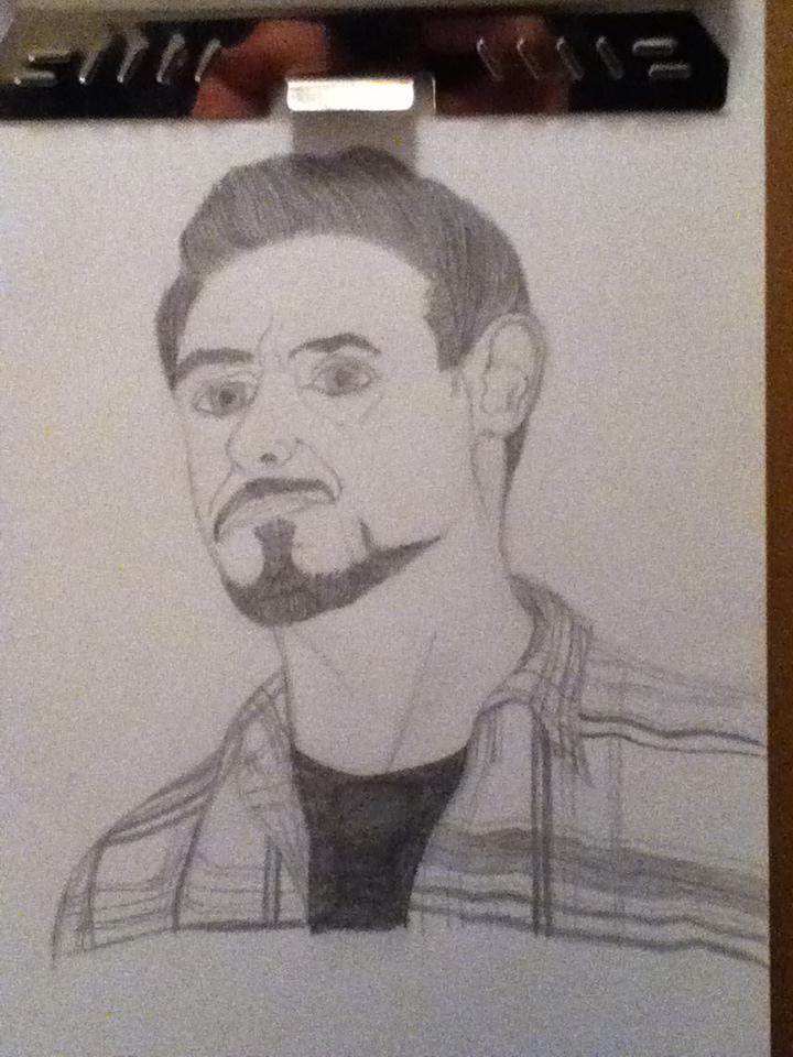Tony Stark by craftfan23
