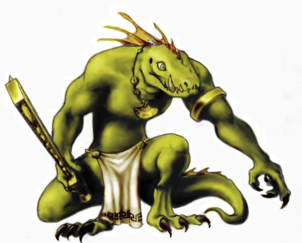 Lizardman by Klaufi
