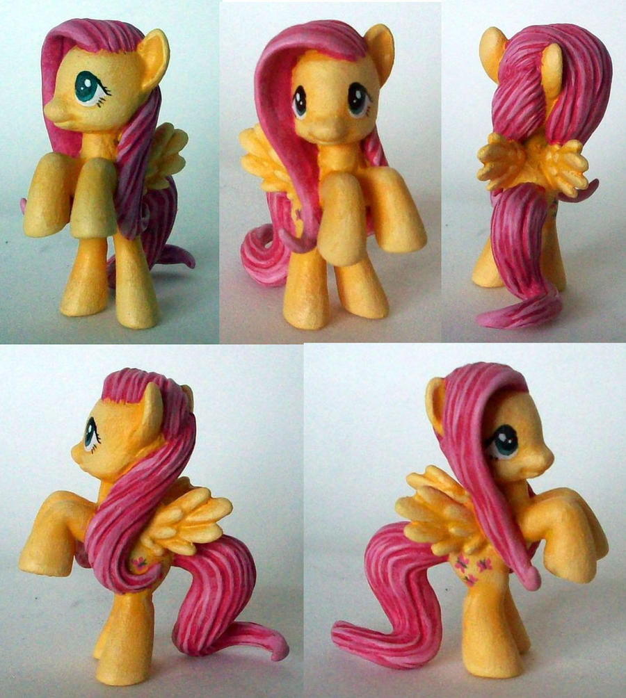 Fluttershy Custom Blindbag by Klaufi