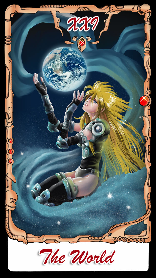 Tarot X The Wheel Of Fortune: B'T X Tarot The World By Hifarry On DeviantArt