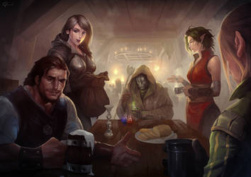 Tavern Meeting by hifarry