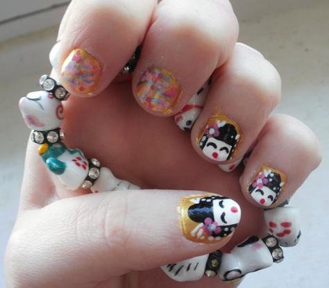 cute geisha nailselomuffe on deviantart