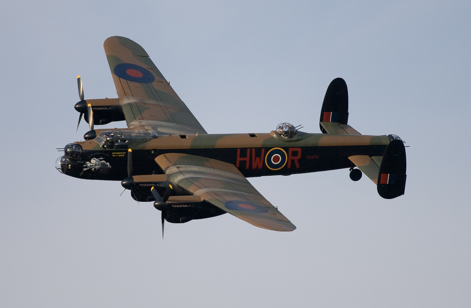 The Lancaster Bomber by dazecoop