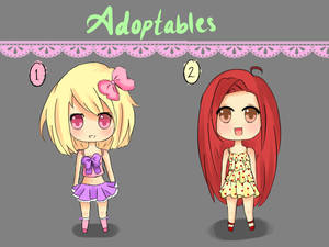 Adoptables by DreamMuffin