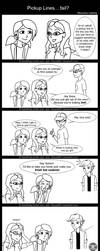 Pickup Lines... fail? by Ravus4001