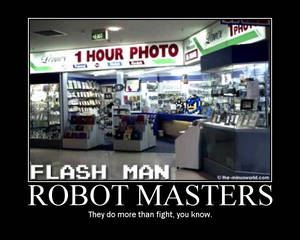 Robot Masters Motivator