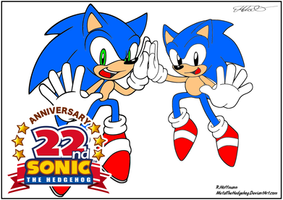 sonic generations Coloured 22nd Birthday