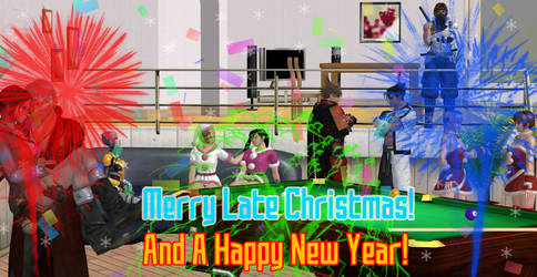 Merry (Late) Christmas 2015 and Happy New Year