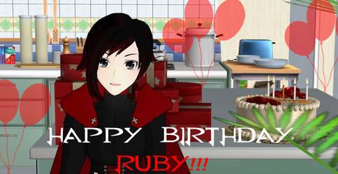 Happy Birthday Ruby Rose