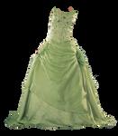 PNG_ light green dress
