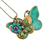 butterfly necklace-png