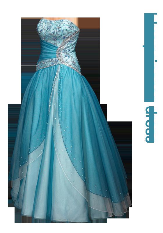 blue princess dress png by miralkhan on deviantart