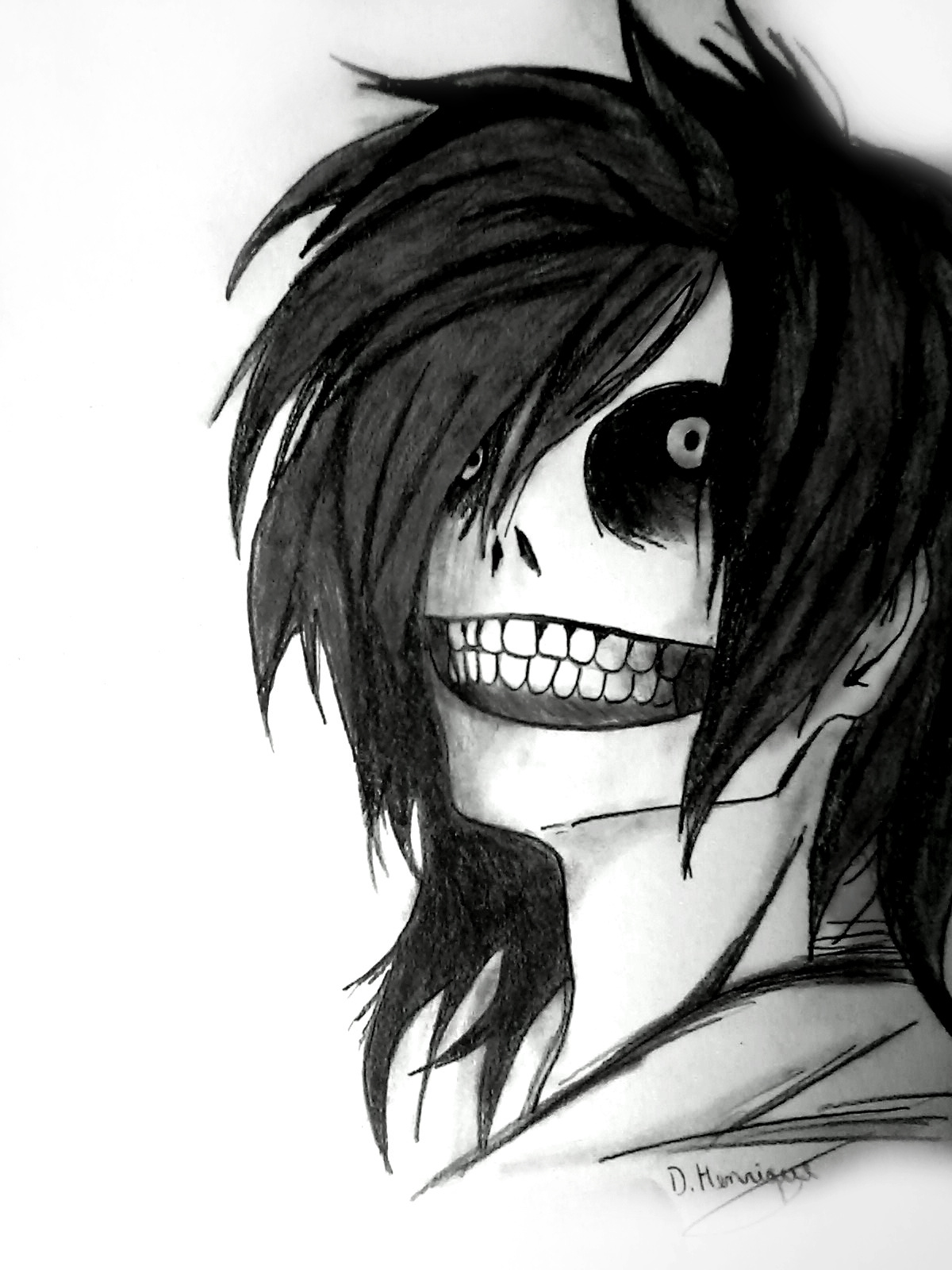 It's just a picture of Ambitious Jeff The Killer Anime Drawing