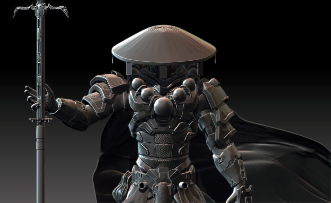 Spartan samurai by zbrush hero on deviantart for Spartan 6 architecture