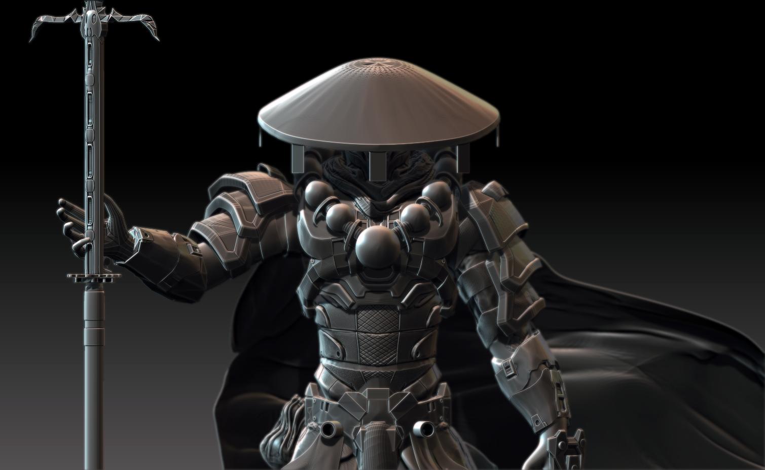 spartan samurai by Zbrush-Hero