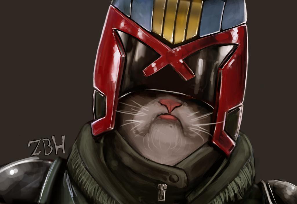 Judge Grump  dredd by Zbrush-Hero