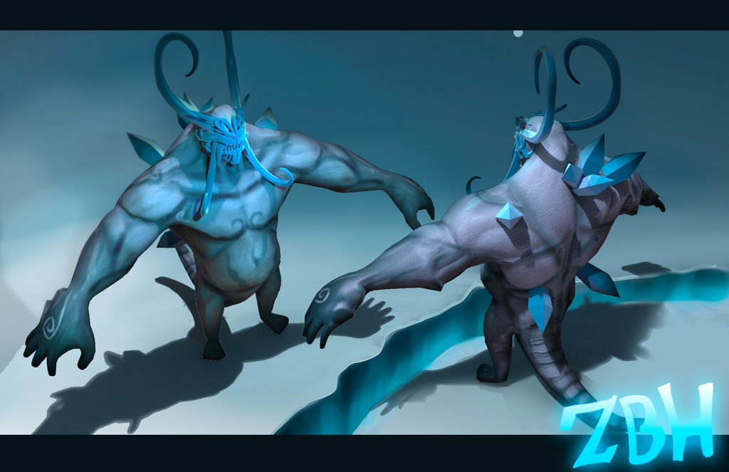 The Ice Yeti by Zbrush-Hero