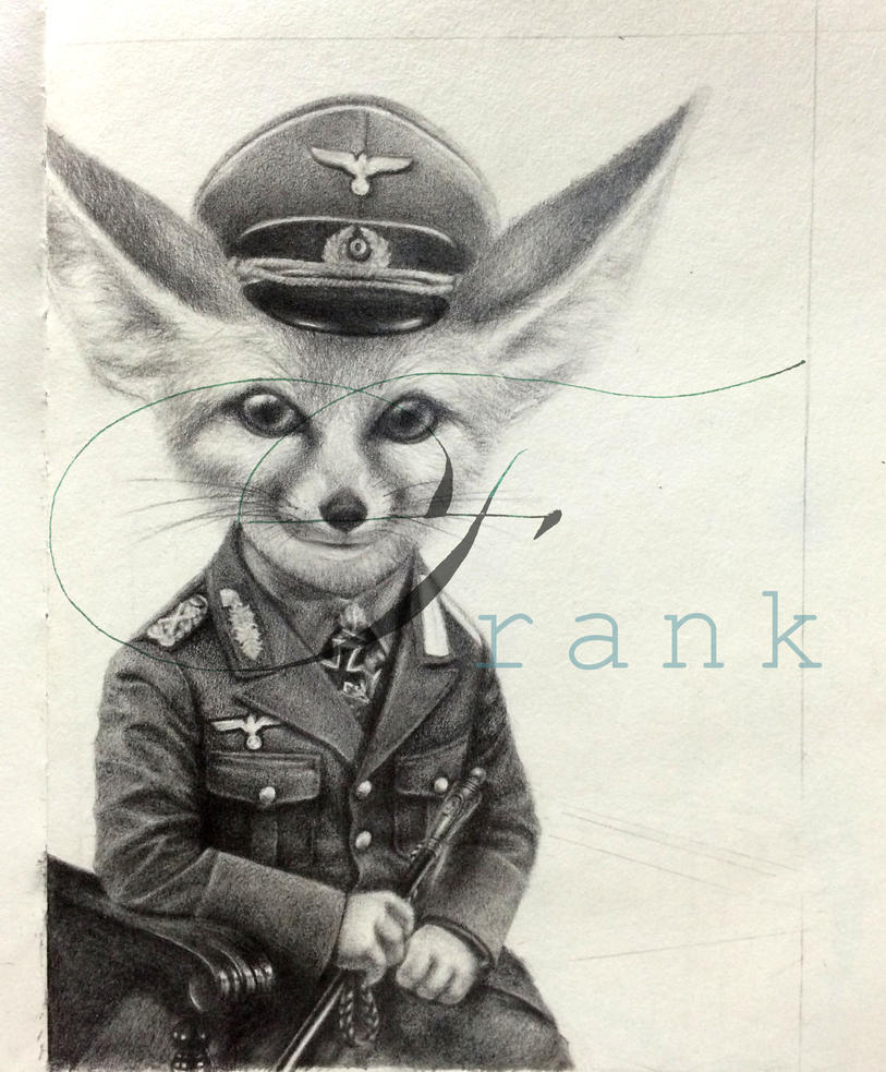 Rommel the Desert Fox by FrankFabian