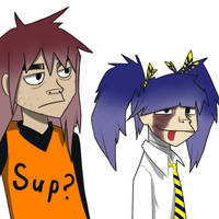 Gorillaz style by Lunatic-Mo-on