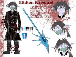 Elidion Raventol - charater sheet by Lunatic-Mo-on