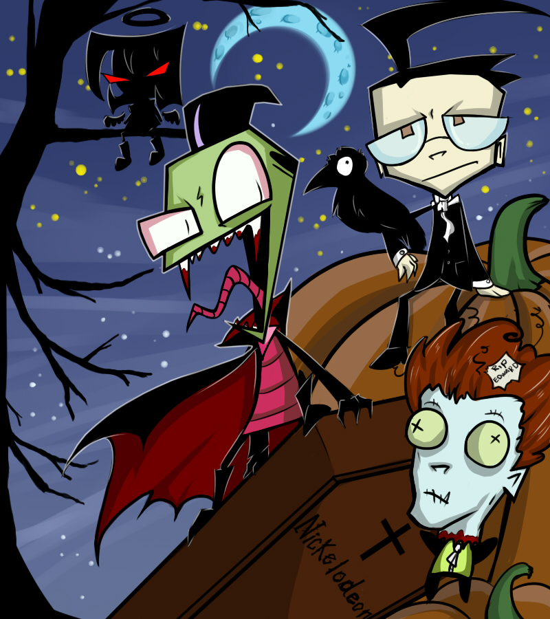 Invader Zim - Halloween 2013 by Do-omed-Moon
