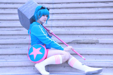 Rammy and Hammy - Ramona Flowers (Video Game) by xoMiaMoore