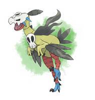Fakemon - Grass Starter Final Evolutin by DevilDman