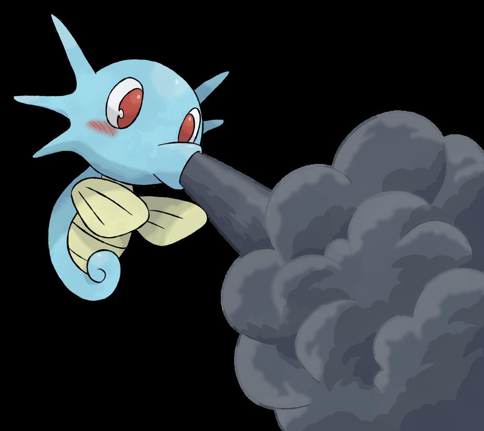 Pokemon Project Horsea Smokescreen By Devildman On Deviantart