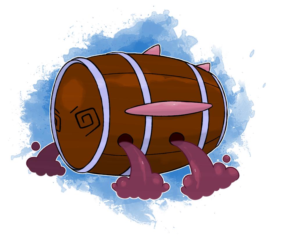 Fakemon - Fermentor by DevilDman