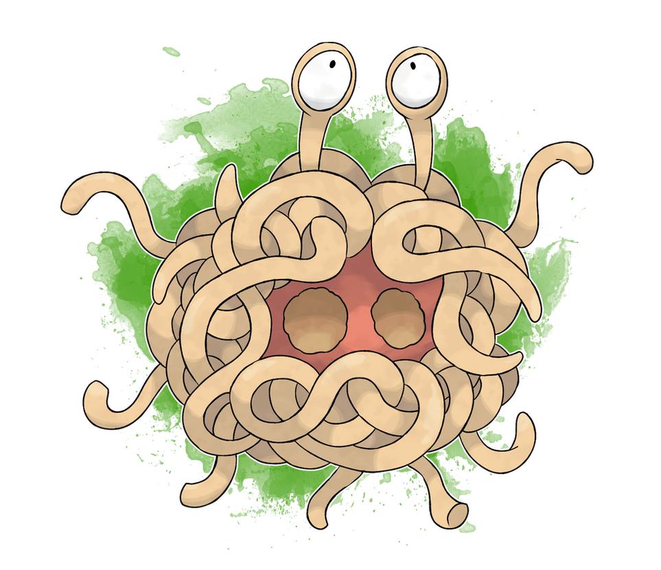 FKMN Commission - Tangela (Spaghetti Form) by DevilDman