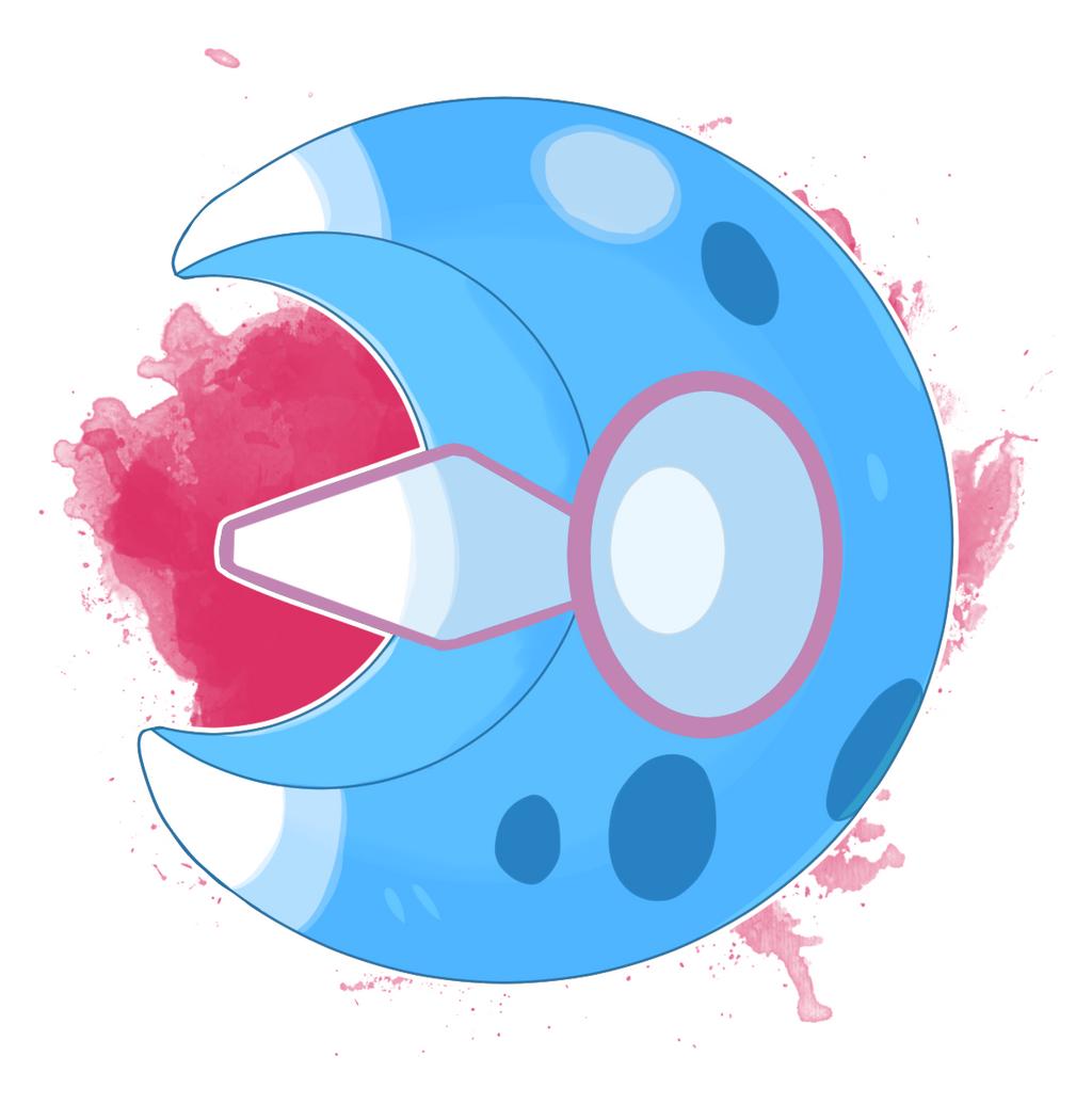 Pokemon - Lunatone Core by DevilDman