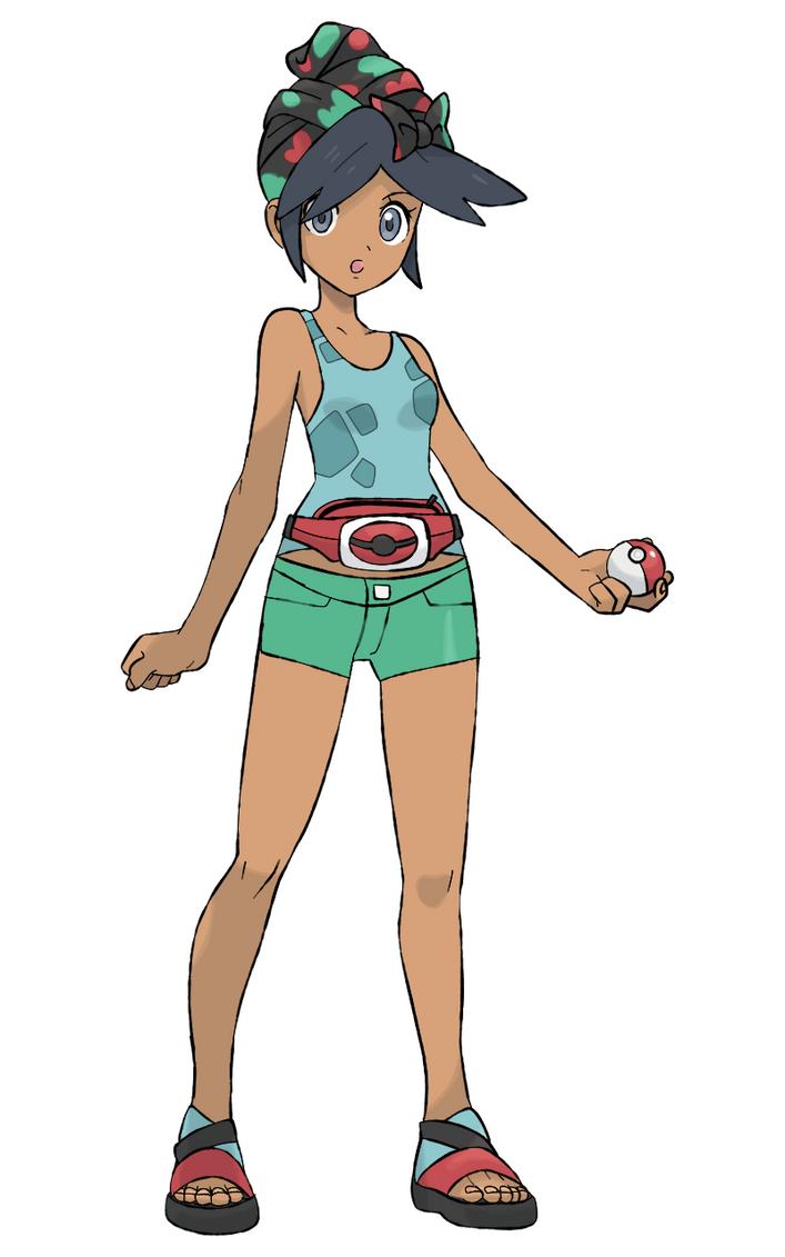 Pikos Region Protagonist - Female by DevilDman