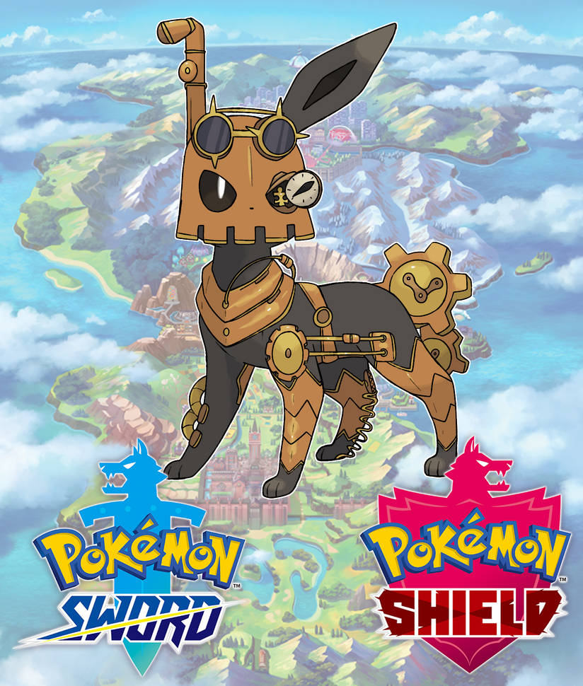 Fakemon Steel Eeveelution By Devildman On Deviantart
