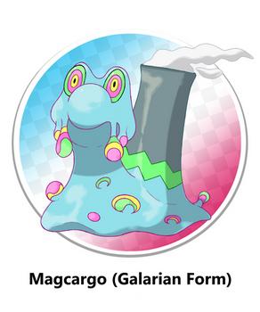 Galarian Magcargo