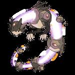 FAKEMON COMMISSION - Meteor Dragon 3