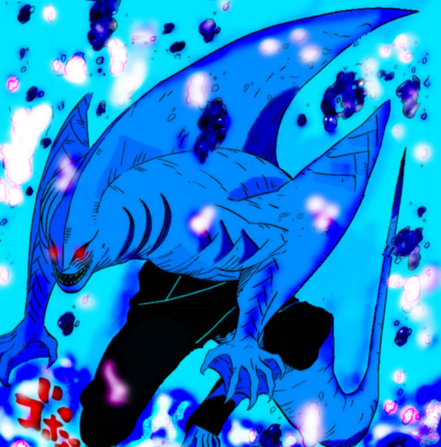 Kisame Shark Form by MrAiro on deviantART