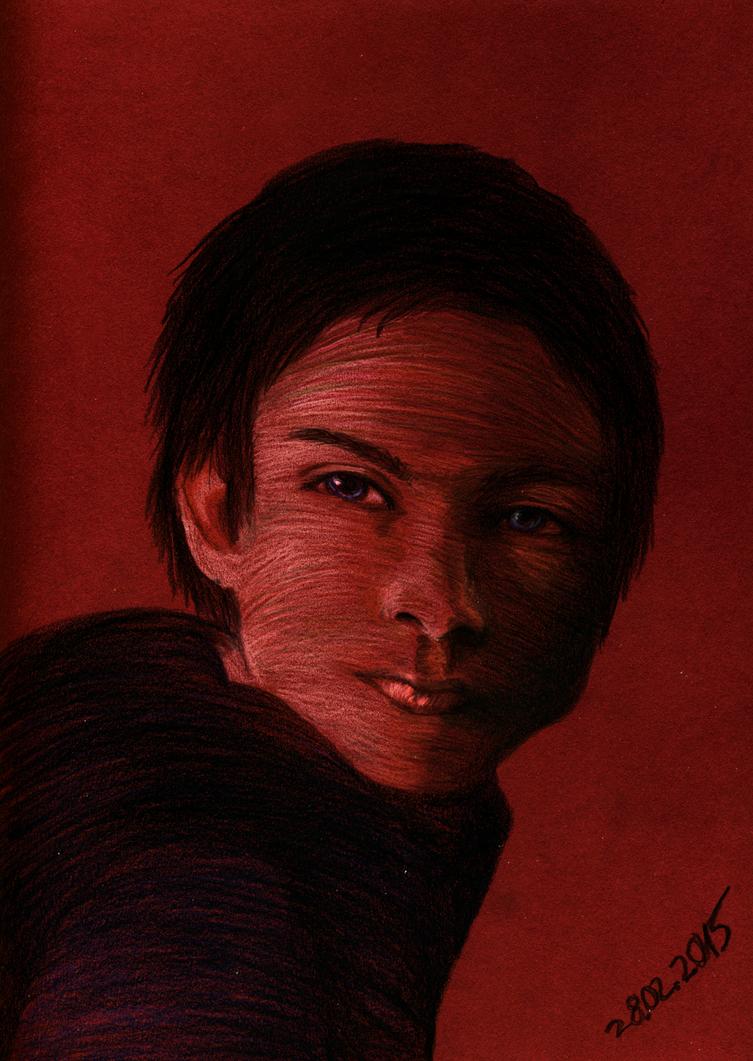 Damon Salvatore by Rakkasei