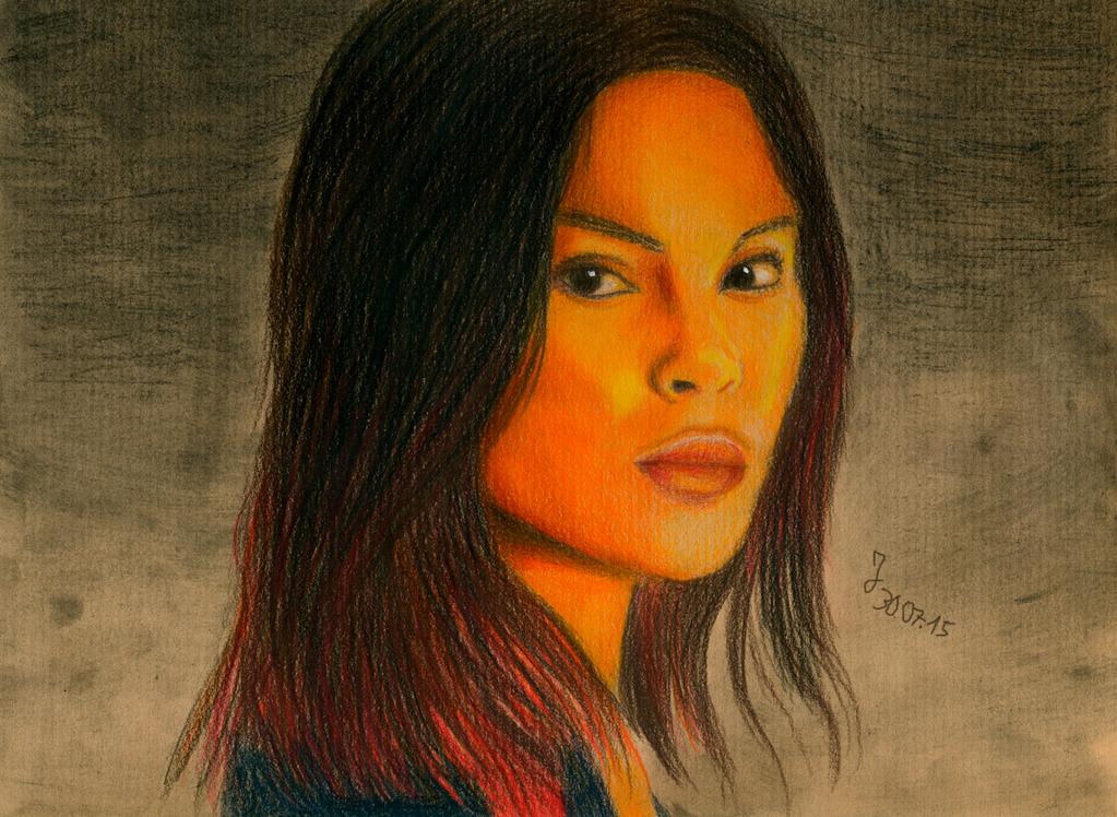 Monica Raymund by Rakkasei
